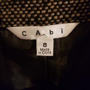 CAbi Jackets & Coats - Cabi wool blend tweed blazer jacket